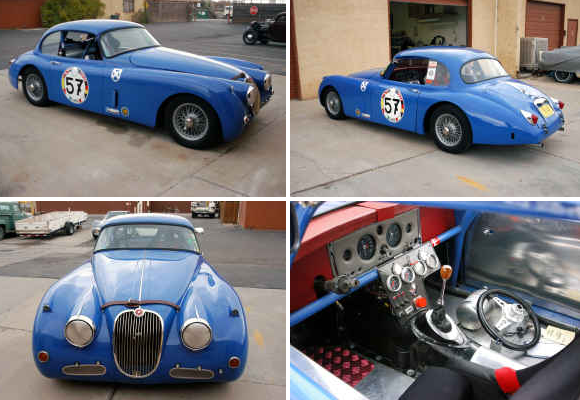 new mexico albuquerque pinnacle auto appraiser appraisal dimished value 1959 jaguar XK150 FHC Race Car